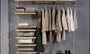 Маленькая гардеробная – обустраиваем с умом