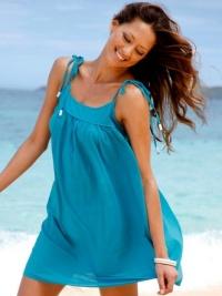 туника для пляжа и палантин