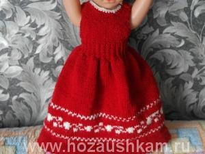 Платье для куклы своими руками фото 14