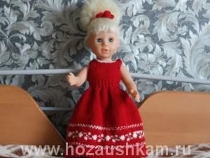 Платье для куклы своими руками. Мастер-класс