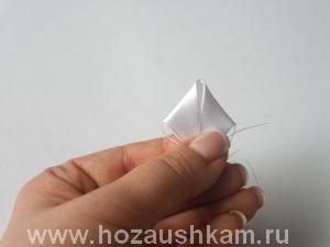 Елочный шар из ткани. Мастер-класс фото 5