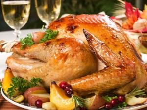 Индейка- традиционное рождественское блюдо в Америке