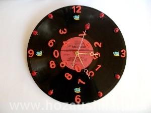 Часы из пластинки фото 30
