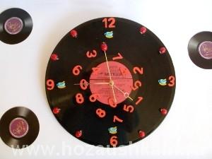 Часы из пластинки фото 33